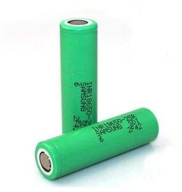 Samsung 25Rハラユ5R 2500mAh 20A 18650 Flattop Batterij