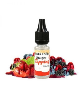 Topping Vape Aroma - Coulis Fruits Rouges