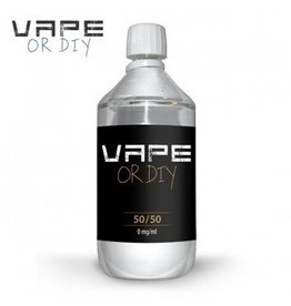 Vape or DIY 1 liter Base 50%PG / 50%VG-0mg