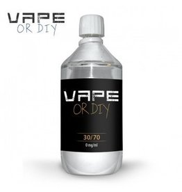 Vape or DIY 1 liter Base 30%PG / 70%VG-0mg