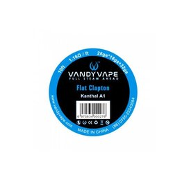 Vandyvape Resistance Wire Flat Clapton Kanthal A1 Vape Wires