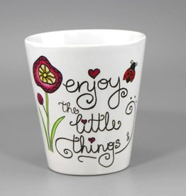 "Tasse ""Enjoy the little things"""