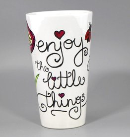 "Tasse groß ""Enjoy the little things"""