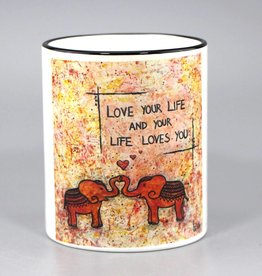 "Tasse ""Love your life"""