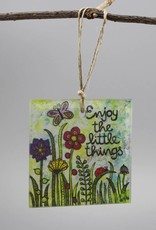 "Glashänger ""Enjoy the little things"""