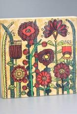 """Holzdruck S """"Flowers IV"""""""