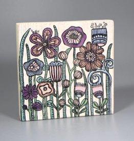 """Holzdruck S """"Flowers Pantone"""""""