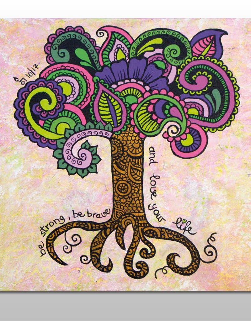 "Poster ""Lebensbaum"""