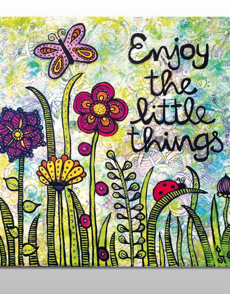 "Poster ""Enjoy the little things"""
