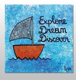 "Poster ""Explore"""