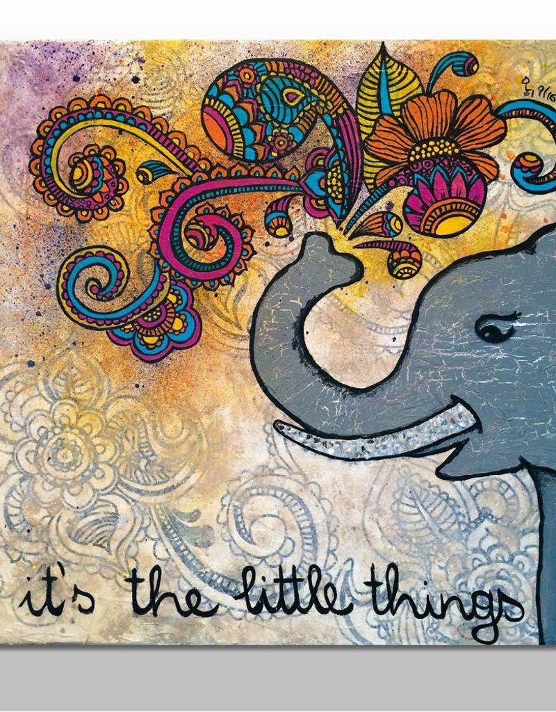 "Poster ""It's the little things"""