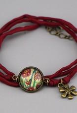 Armband aus Seide -  Flowers IV