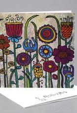 Klappkarte - Flowers I