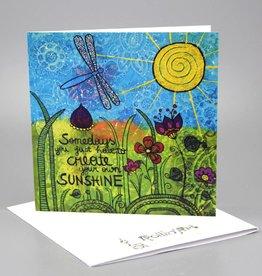 Klappkarte  - Sunshine