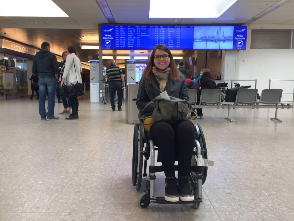 Fernweh! Über das Reisen im Rollstuhl. London callin...