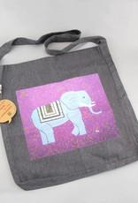 Tasche Elefant in lila