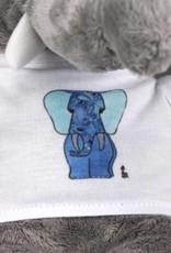 Flauschfant blau