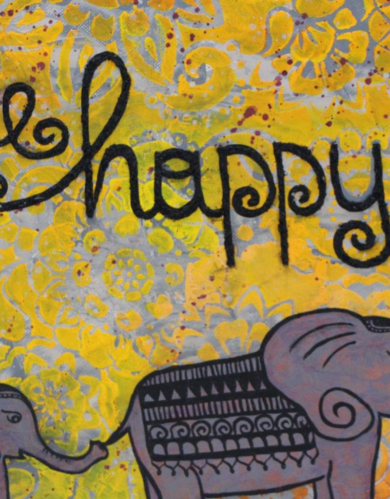 Originalbild be happy
