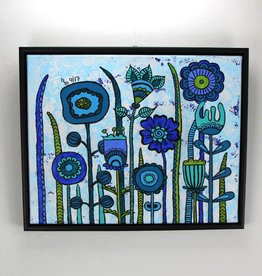 Originalbild  Flowers Blue