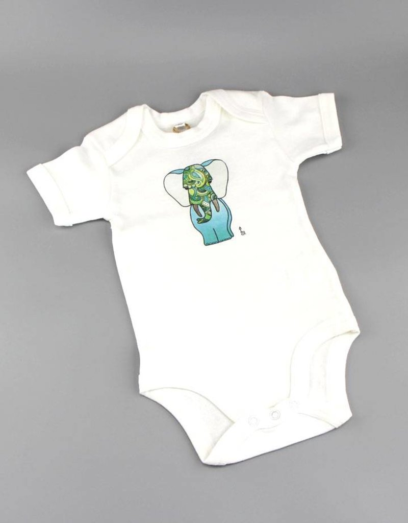 Baby Body Fant grün