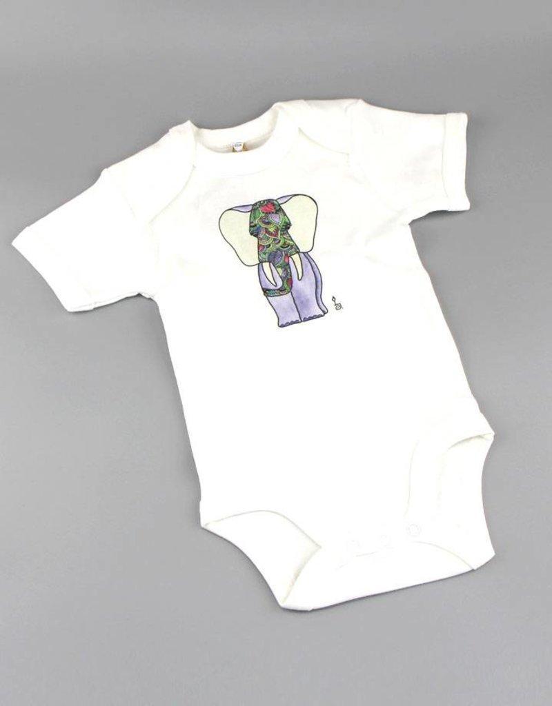 Baby Body Fant lila