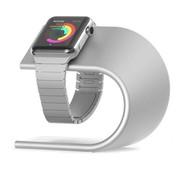 REBL Elegante Aluminium Standaard / dock voor de Apple Watch - Zilver