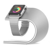 Elegante Aluminium Standaard / dock voor de Apple Watch - Zilver