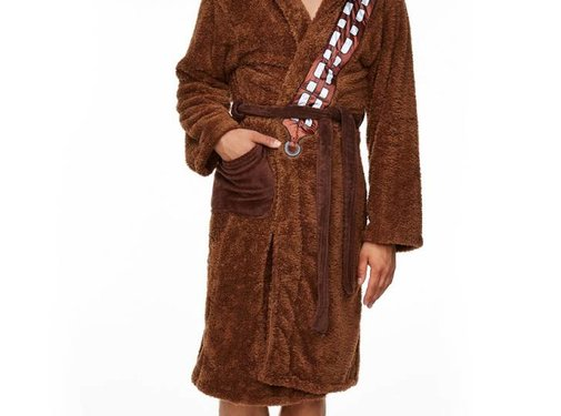Star Wars Officiële Star Wars: Chewbacca fleece badjas met capuchon | One size