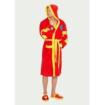 Officiële Marvel: Iron Man badjas met capuchon | One size