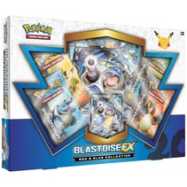 Pokemon kaarten TCG - Blastoise EX - 20th Anniversary Red & Blue