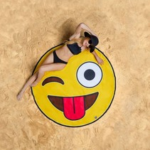 Beach Blanket / Strandlaken Emoji 1.5m