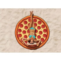 Beach Blanket / Strandlaken Pizza 1.5m