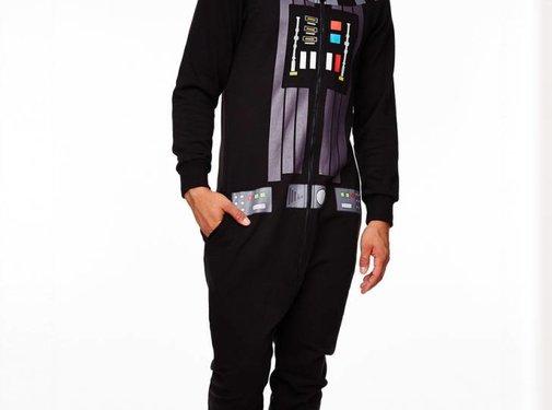 Star Wars Officiële Star Wars: Darth Vader Onesie / Jumpsuit met sound effects!| One size