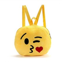 Emoji Rugtasje Blow Kiss - 26,5 cm