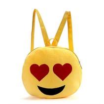 Emoji Rugtasje Heart Eyes - 26,5 cm