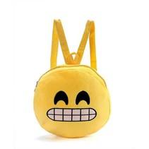 Emoji Rugtasje Big Smile - 26,5 cm