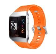 REBL Siliconen polsbandje voor de Fitbit Ionic met gespsluiting - Oranje