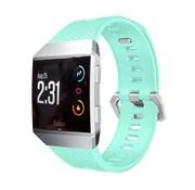 REBL Siliconen polsbandje voor de Fitbit Ionic met gespsluiting - Turquoise