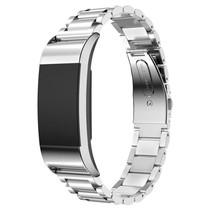 Metalen armband / polsbandje voor Fitbit Charge 2 - Zilver