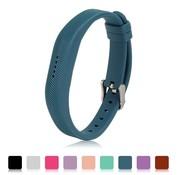 REBL Siliconen sportbandjes voor de Fitbit Flex 2 met gespsluiting - Blauw