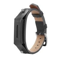 Lederen armbandje voor de Fitbit Flex 2 met gespsluiting  - Grijs