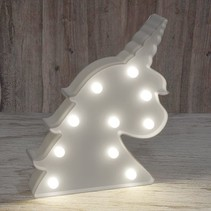 25cm Unicorn Marquee Lamp