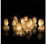 Fizz Creations Unicorn lichtsnoer met 10 LED lampjes