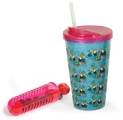 Fizz Creations Tropical Fruit Infuser Straw Cup