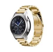 REBL Metalen armband voor Samsung Gear S3 Classic / S3 Frontier - Goud