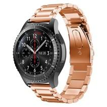 Metalen armband voor Samsung Gear S3 Classic / S3 Frontier - Rose Goud