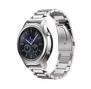 REBL Metalen armband voor Samsung Gear S3 Classic / S3 Frontier - Zilver