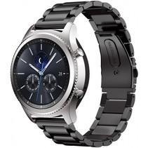 Metalen armband voor Samsung Gear S3 Classic / S3 Frontier - Zwart