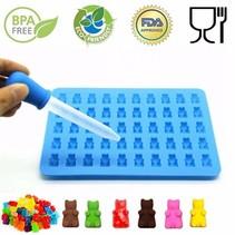 Siliconen gummy beer vorm - Maak zelf je eigen gummy beertjes - Inclusief pipet