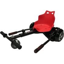 Hoverkart – Hoverseat voor Hoverboard – Zwart met Rood